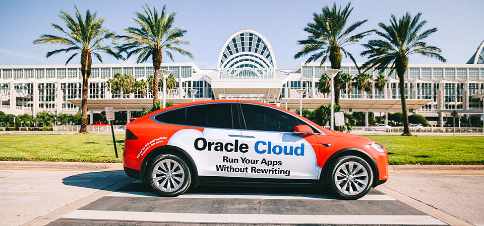 Oracle Experiential Marketing