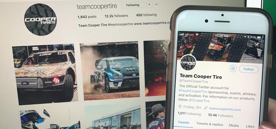 #TeamCooperTire Social Media